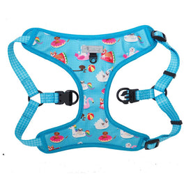 Moo+Twig Pool Pawty Step-In Dog Harness