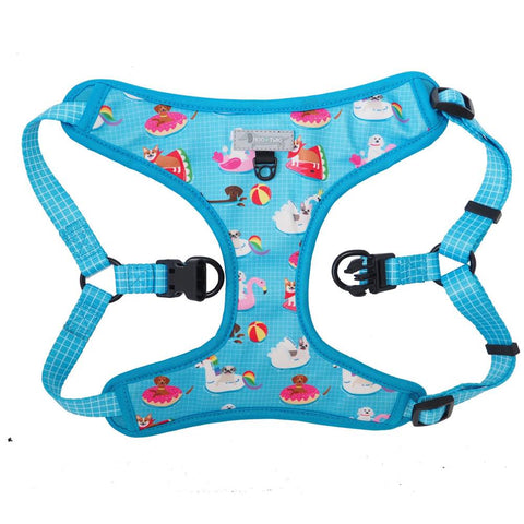 Moo+Twig Pool Pawty Step-In Dog Harness - Kohepets