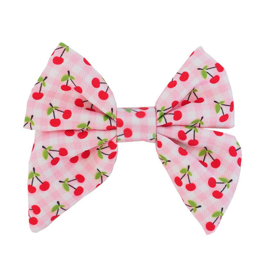 Moo+Twig Shirt Harness Bowtie (Cherries) - Kohepets
