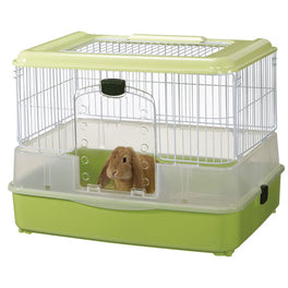 Marukan Rabbit Cage In Green