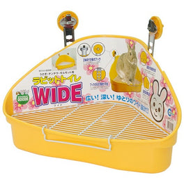 Marukan Wide Litter Pan for Rabbit