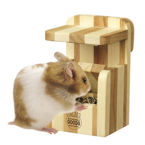 Marukan Wooden Treasure Box for Hamsters - Kohepets