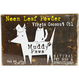 Muddy Paws Neem Leaf Powder VCO Natural Pet Soap & Conditioner 135g
