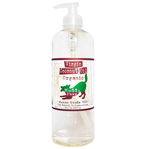 Muddy Paws Organic Virgin Coconut Oil - Kohepets