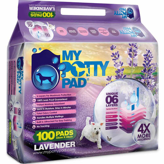 BUY 3 GET 1 FREE: My Potty Pad Lavender Pee Pad For Dogs - Kohepets