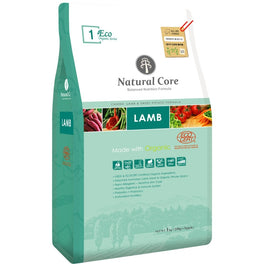Natural Core Eco 1 Organic Lamb & Sweet Potato Dry Dog Food