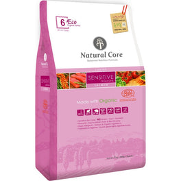 Natural Core Eco 6 Organic Sensitive Solution Salmon Dry Dog Food