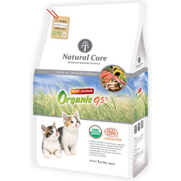 Natural Core Multi Protein Organic 95% Dry Cat Food 1kg