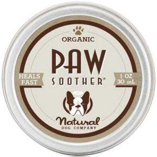 Natural Dog Company Organic Paw Soother Healing Balm for Dogs (Tin) 1oz - Kohepets