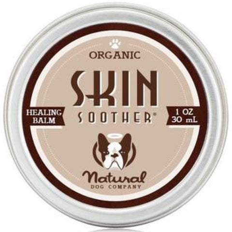 Natural Dog Company Organic Skin Soother Healing Balm for Dogs (Tin) 1oz - Kohepets
