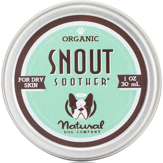 Natural Dog Company Organic Snout Soother Healing Balm for Dogs (Tin) 1oz - Kohepets