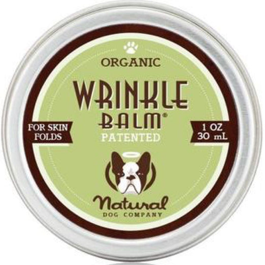 Natural Dog Company Organic Wrinkle Healing Balm for Dogs (Tin) 1oz - Kohepets