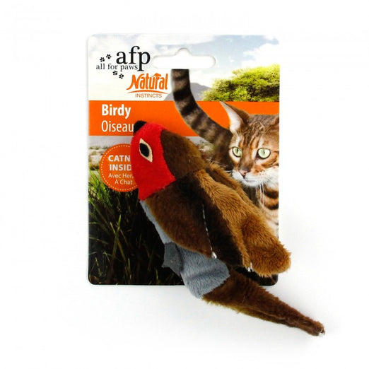All For Paws Natural Instincts Dead Bird Cat Toy - Kohepets