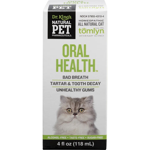 Natural Pet Pharmaceuticals Oral Health Cat Supplement 118ml