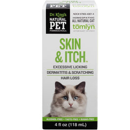 Natural Pet Pharmaceuticals Skin & Itch Cat Supplement 118ml