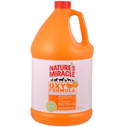 Nature's Miracle Orange-Oxy Power Stain & Odor Remover 1 Gallon - Kohepets