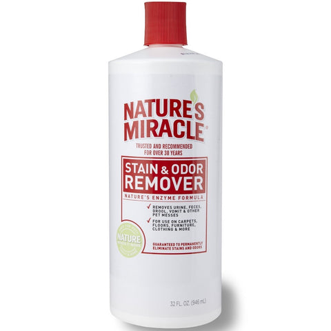 Nature's Miracle Stain & Odor Remover 32oz - Kohepets