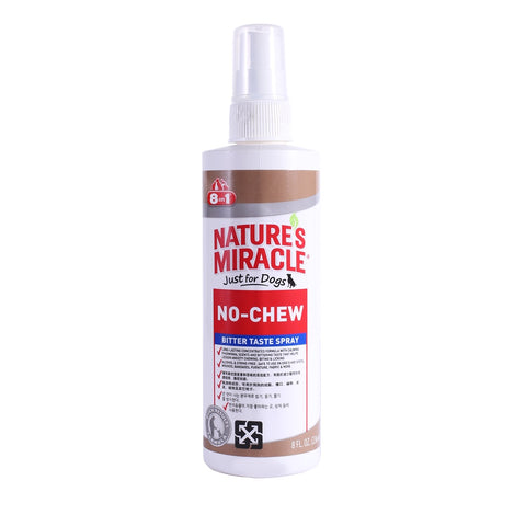 Nature's Miracle No Chew Bitter Taste Dog Spray 8oz - Kohepets