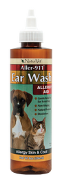 NaturVet Aller-911 Ear Wash 8oz