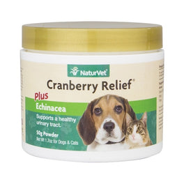 25% OFF: NaturVet Cranberry Relief® Plus Echinacea Powder For Dogs & Cats 50g