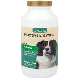 NaturVet Digestive Enzymes Chewable Tablets 270g