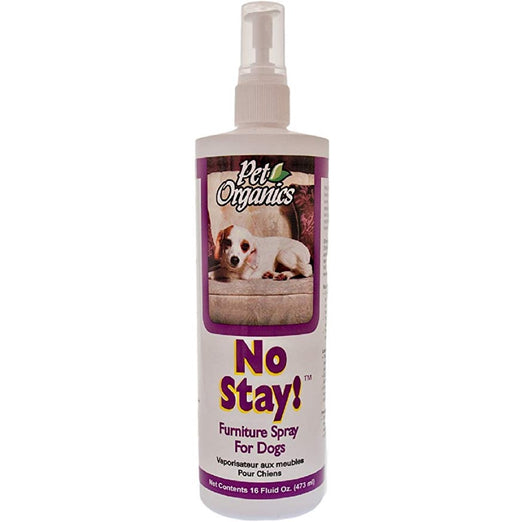 NaturVet Pet Organics No Stay! Furniture Spray For Dogs 473ml - Kohepets