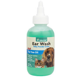 10% OFF: NaturVet Ear Wash With Tea Tree Oil 4oz