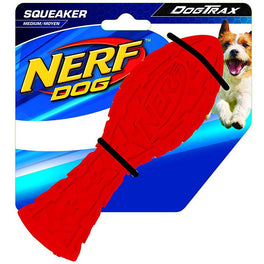 Nerf Dog DogTrax Tire Squeak Aero Dog Toy (Medium)