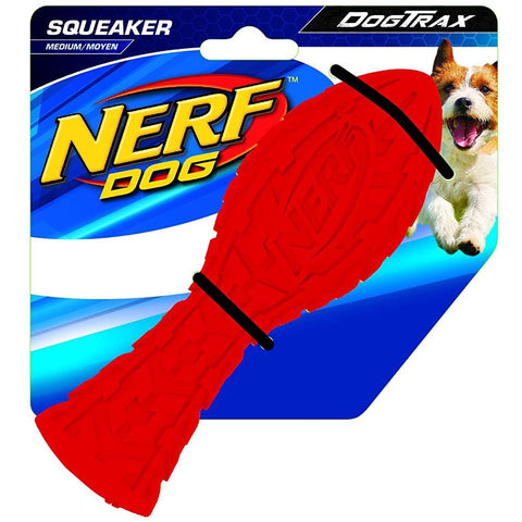Nerf Dog DogTrax Tire Squeak Aero Dog Toy (Medium) - Kohepets