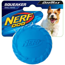 Nerf Dog DogTrax Tire Squeak Ball Dog Toy (Small)