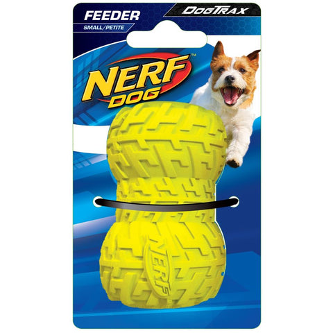 Nerf Dog DogTrax Tire Feeder Dog Toy (Small) - Kohepets