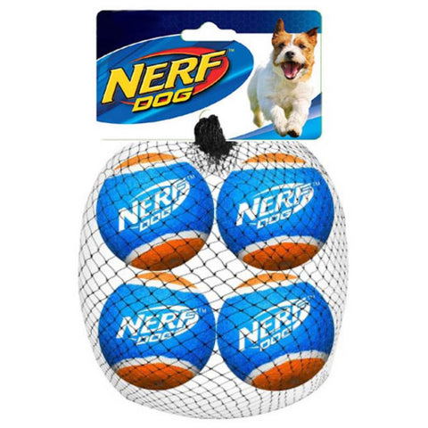 Nerf Dog Tennis Balls Dog Toy (4-Pack)