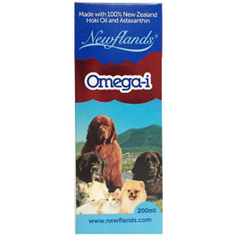 Newflands Omega-i Hoki Oil For Cats & Dogs 200ml
