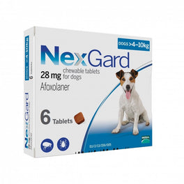 NexGard Chews For Small Dogs (4-10kg) 6ct