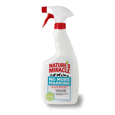 Nature's Miracle No More Marking Stain & Odor Remover With Natural Repellent Spray 24oz