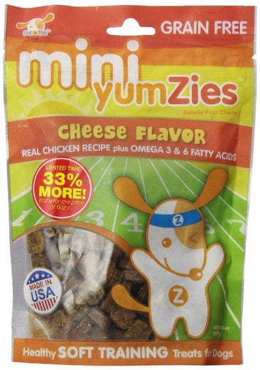 Nootie Mini Yumzies Grain Free Soft Cheese Dog Treat 8oz - Kohepets
