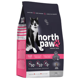 30% OFF: North Paw All Life Stages Grain-Free Dry Cat Food 2.25kg
