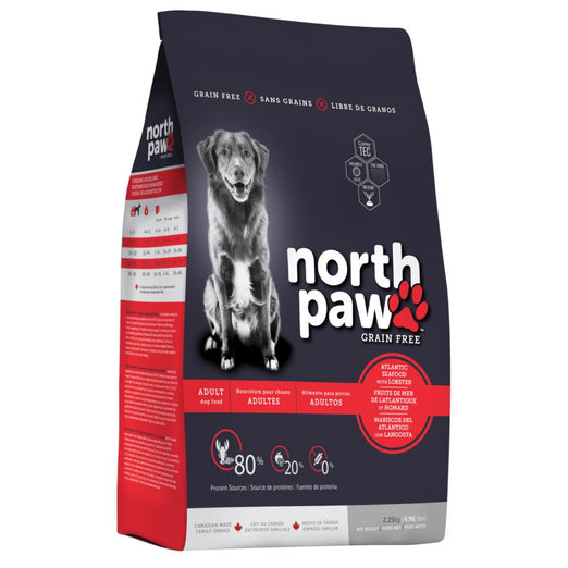 North Paw Atlantic Seafood with Lobster Grain-Free Dry Dog Food - Kohepets