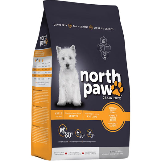 North Paw Lamb & Sweet Potato Grain-Free Dry Dog Food - Kohepets