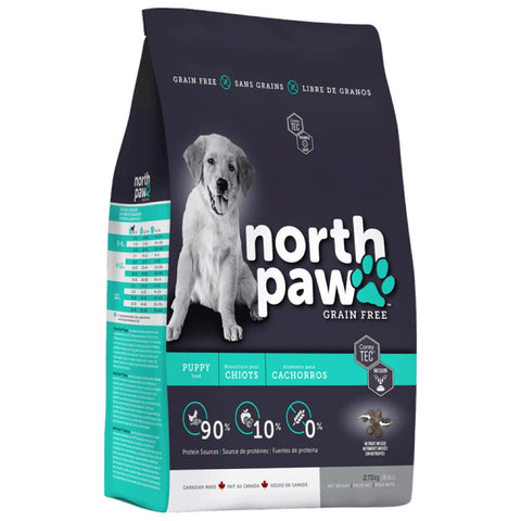 North Paw Puppy Grain-Free Dry Dog Food - Kohepets