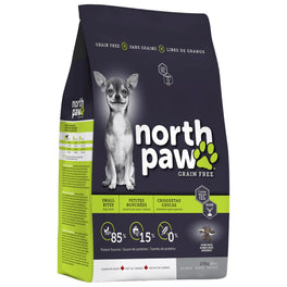 2 FOR $89: North Paw Small Bites Grain-Free Dry Dog Food 2.72kg