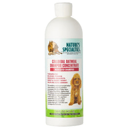 Nature's Specialties Colloidal Oatmeal Medicated Concentrate Shampoo For Pets 16oz