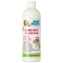 Nature's Specialties Derma-Treat Naturally Medicated Shampoo For Pets 16oz