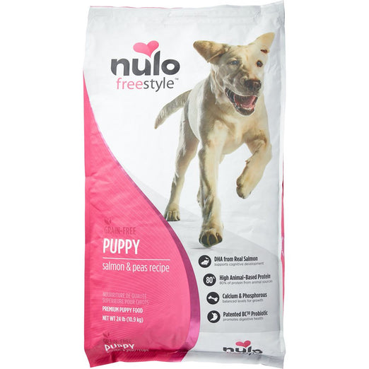 Nulo FreeStyle Grain Free Puppy Salmon & Peas Dry Dog Food - Kohepets