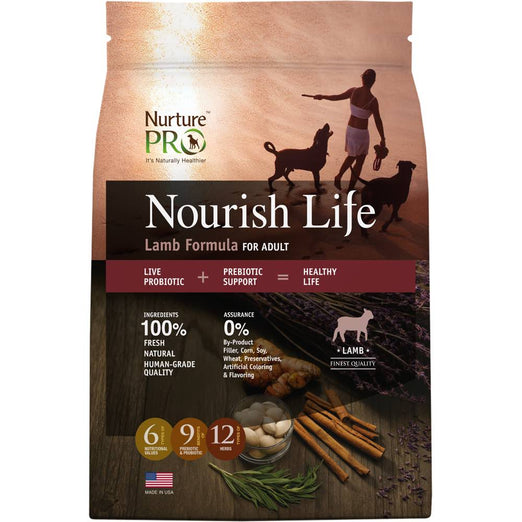 20% OFF: Nurture Pro Nourish Life Lamb Dry Dog Food - Kohepets