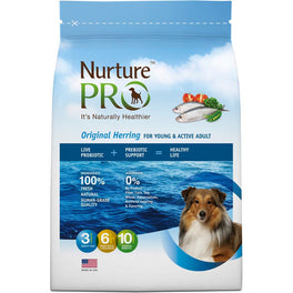 'FREE TREATS': Nurture Pro Original Herring for Young & Active Adult Dry Dog Food (Eagle Pro)
