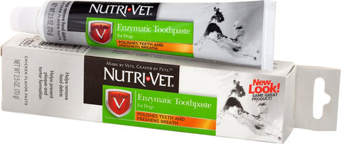 Nutri-Vet Chicken Flavour Enzymatic Toothpaste for Dogs 70g