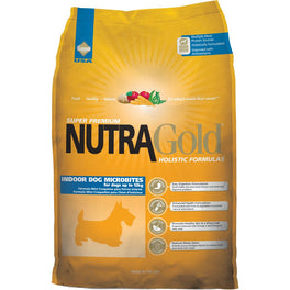 25% OFF: NutraGold Holistic Indoor Adult Microbites Dry Dog Food 3kg