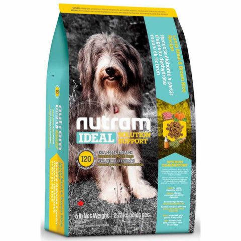 Nutram I20 Ideal Solution Support Lamb Meal & Brown Rice Recipe Adult Dry Dog Food