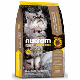 Nutram T22 Total Grain-Free Chicken & Turkey Recipe Dry Cat Food